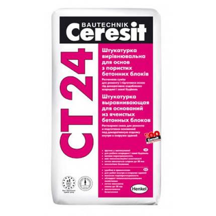 Растворная смесь для ремонта CT-24 25кг Ceresit , фото 2
