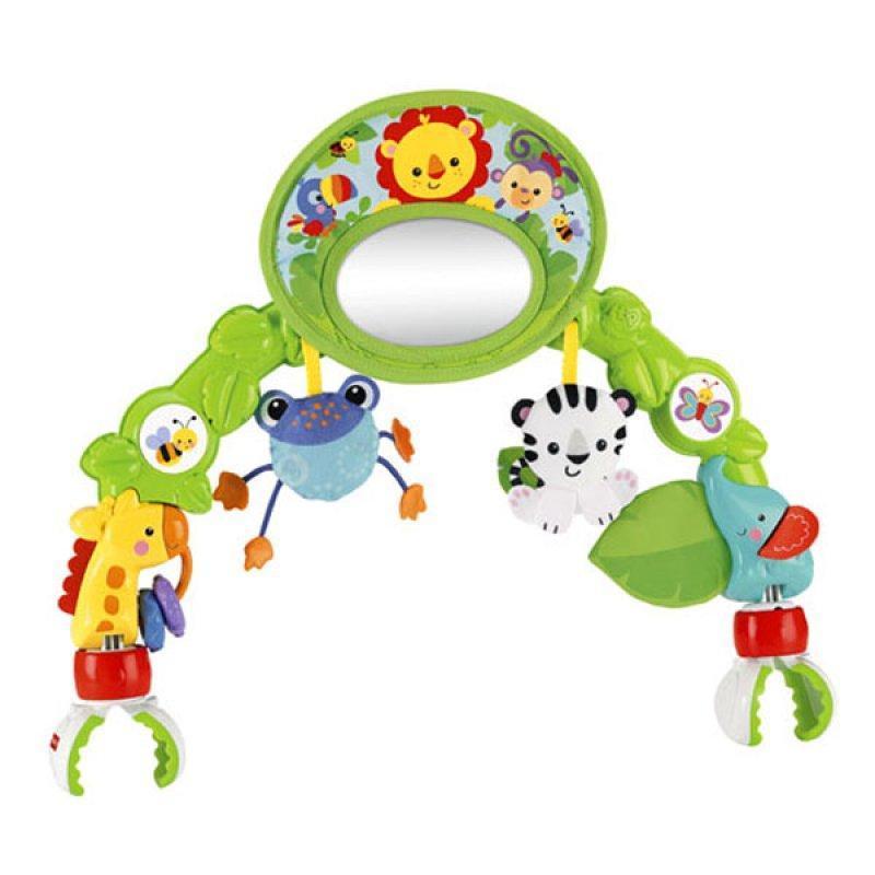 Мобиль на детскую кроватку дуга Фишер Прайс Друзья из тропического леса Fisher Price BHW57