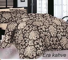 """Комплект постельного белья ALTINBASAK Сатин Deluxe """"Era"""" kahve Семейный"""