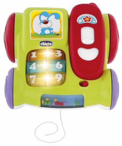 Игрушка детская музыкальная телефон Динь-динь Chicco 5184