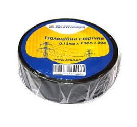 Изолента 0,13мм*19мм/20м черная