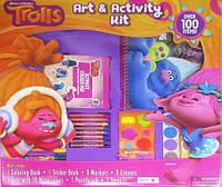 """Набор для рисования 100 предмета """"Тролли"""" 47*47см"""