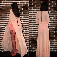 Платье женское  Макси-шифон