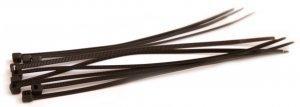 Хомуты кабельные 150 х 3 мм черные (упак 100шт)