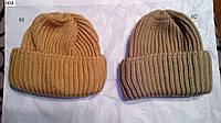 Женская объемная вязаная шапка 004 нал