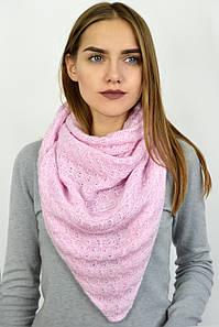 Платок Агнис розовый
