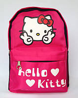 """Рюкзак дошкольный для девочки """" Hello Kitty"""" малинового цвета"""