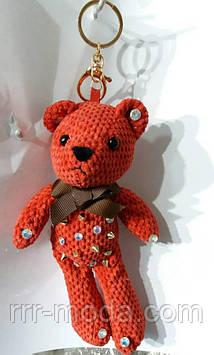 113 Брелок игрушка медведь для сумок и ключей. Брелок 25 см