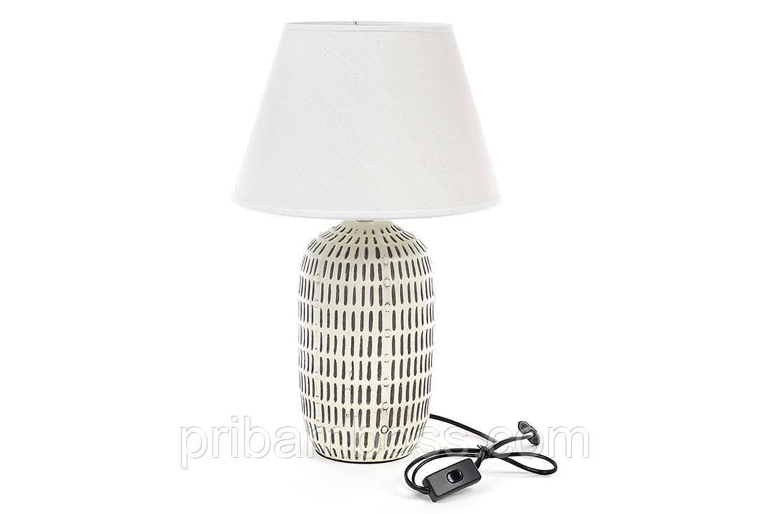 Лампа настольная 48см с керамическим основанием