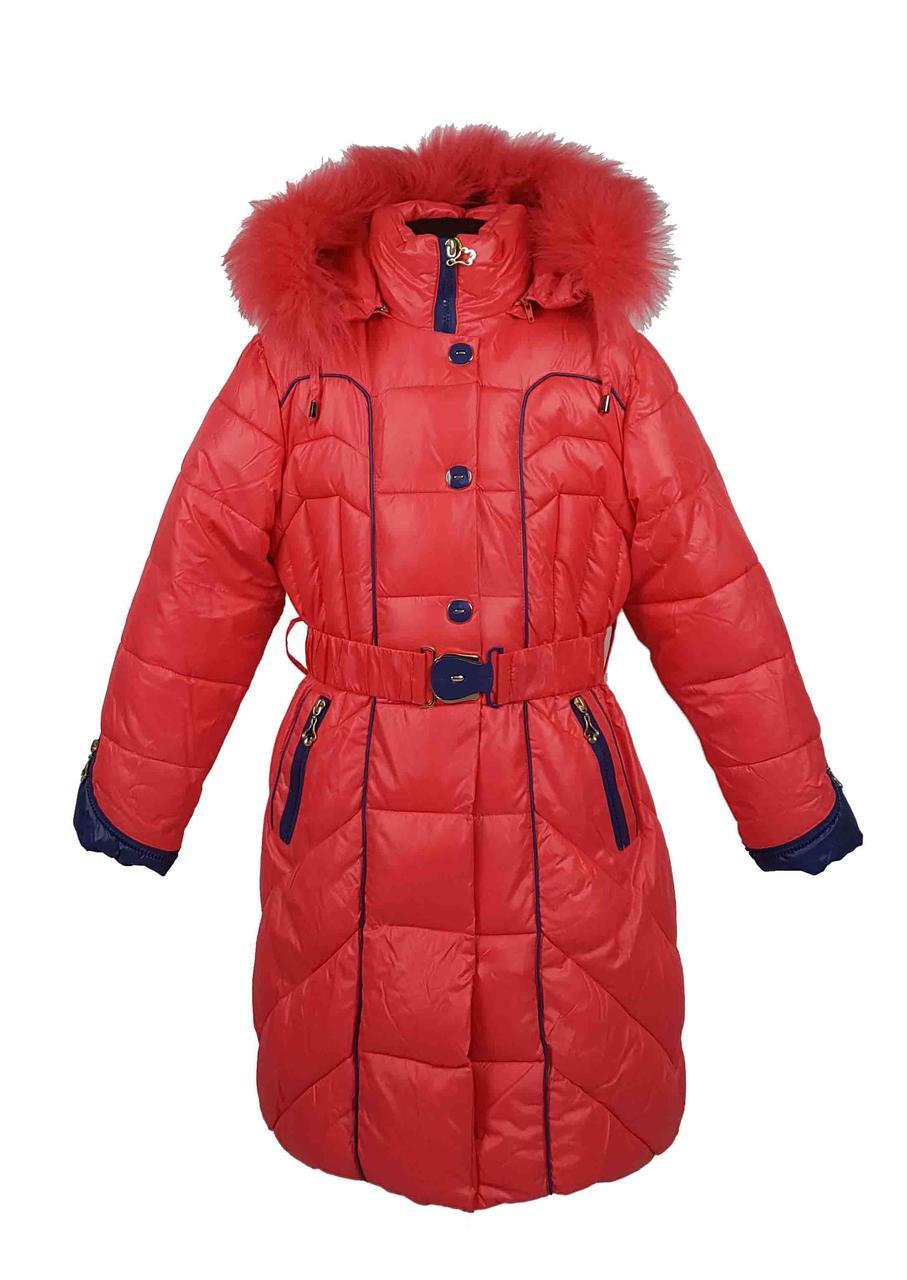 Зимняя куртка 88-18 на 100% холлофайбере размеры от 146-152, фото 1