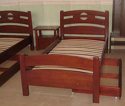 """Деревянная мебель (односпальная кровать """"Сакура"""", комод """"Конго-3"""" и тумбочка """"Сакура-2"""") 2"""