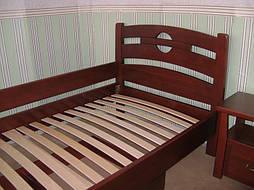 """Деревянная мебель (односпальная кровать """"Сакура"""", комод """"Конго-3"""" и тумбочка """"Сакура-2"""") 5"""