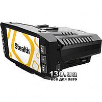 Автомобильный видеорегистратор Stealth MFU 630 с антирадаром, GPS и дисплеем