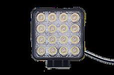 Дополнительная рабочая фара Allpin мощностью 48 Вт из 16 диодов по 3 Вт (6323S48S), фото 3