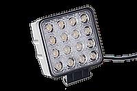 Дополнительная рабочая фара Allpin мощностью 48 Вт из 16 диодов по 3 Вт (6323S48S)