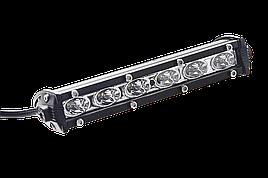 Светодиодная фара (балка) Allpin 18 Вт из 6 диодов по 3 Вт (6324S18)