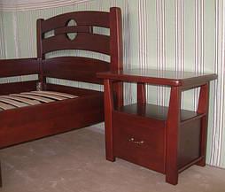 """Деревянная мебель (односпальная кровать """"Сакура"""", комод """"Конго-3"""" и тумбочка """"Сакура-2"""") 9"""