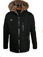 Модная мужская куртка парка зимняя на меху