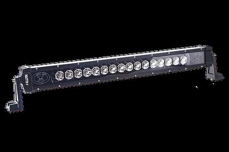 Светодиодная фара (балка) Allpin 80 Вт с янтарной подсветкой (6327S80A), фото 2