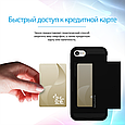 Чехол для iPhone vaultCase-I7 Black, фото 6