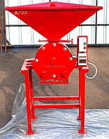 Зернодробилка ДКУ (измельчитель зерна) 7,5 кВт, до 1000 кг/час
