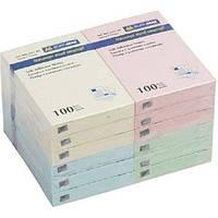 Блок для заметок Buromax 51х76мм 100л ассорти (BM.2311-99)