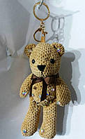 117 Модные брелоки hade made мишки для сумок и ключей. Брелок 25 см