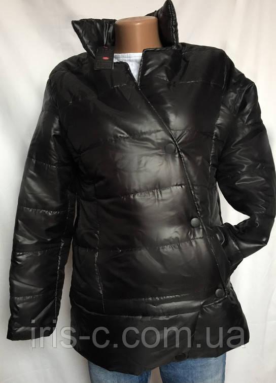 Куртка черная, утепленная, легкая размер S/M