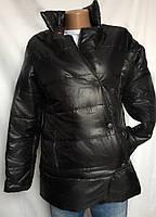Куртка черная, утепленная, легкая размер S/M, фото 1