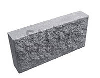 Плита Силта-Брик облицовочная декоративная цокольная, 390х190х70, Серый; 11 кг/шт (124 шт/пал)