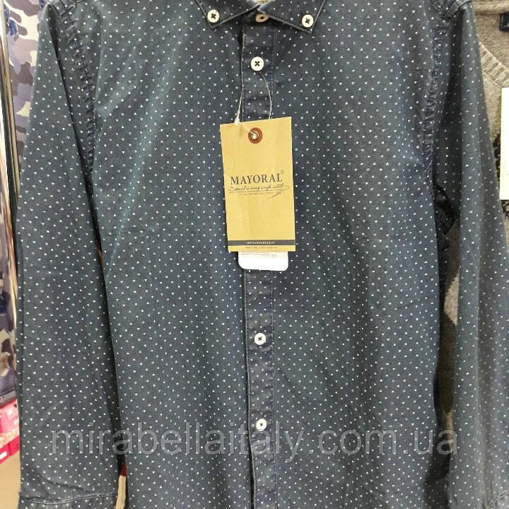 Рубашка Mayoral  котоновая