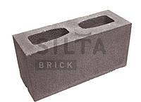 Блок гладкий Силта-Брик, 390х190х140, Цветной 34-1 Коричневый
