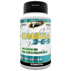 Полиненасыщенные жирные кислоты Omega 3-6-9 (120 капс.) Trec Nutrition