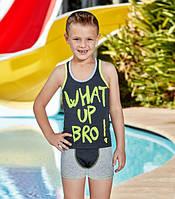 BERRAK Комплект майка+шорты для мальчика 5324