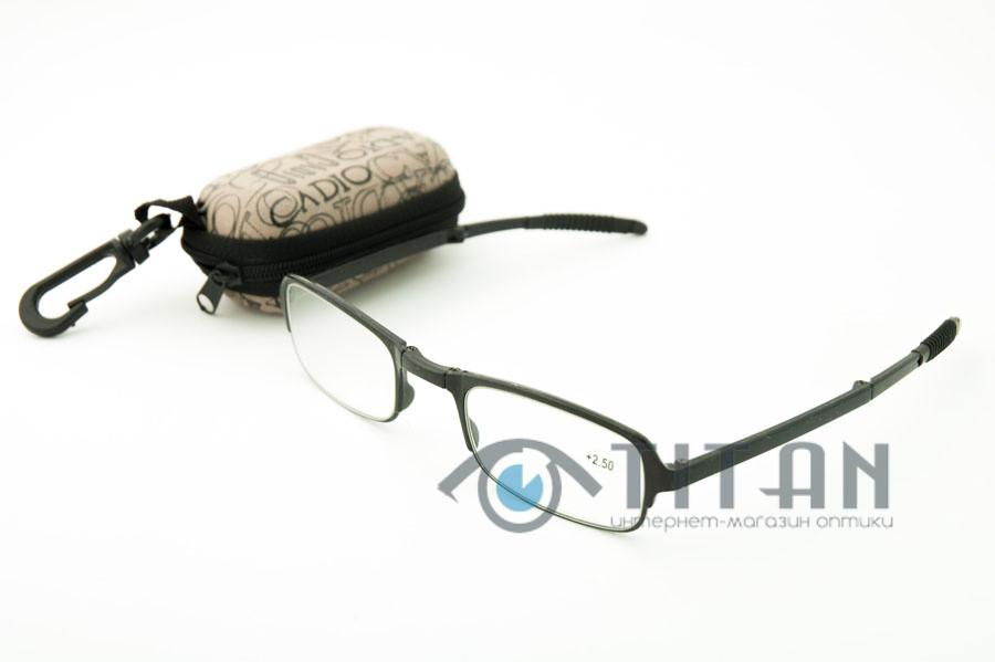 Очки с диоптрией складные с футляром TR 8868