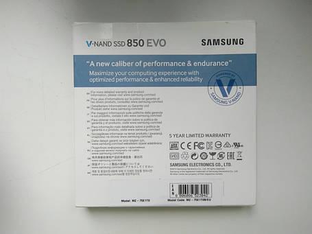 SSD накопитель Samsung 850 EVO MZ-75E1T0B, фото 2