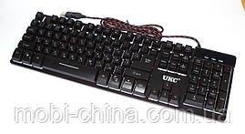 Проводная USB клавиатура с подсветкой, LED Backlight Keyboard ZYG-800, фото 2