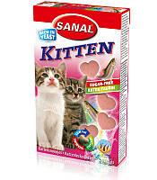 Вітаміни для кошенят Сана Киттен з лососем (Sanal Kitten) 400 гр., 680 таб.