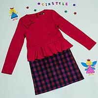 """Нарядное платье для девочки """"Баска""""рост 116-146 см"""