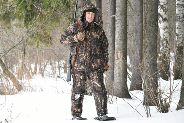 Зимние теплые костюмы