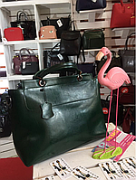 Женская кожаная сумка А4