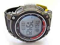 Часы  спортивные Q@Q  Red@Grey 10Bar противоударные, можно плавать