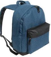 Спортивный рюкзак темно-синий на одно отделение Wallaby 29*38*15