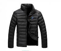 Зимняя мужская куртка Nike Black реплика