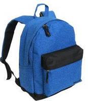 Спортивный рюкзак ярко-синий на одно отделение Wallaby 29*38*15