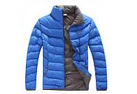 Зимняя мужская куртка Nike Blue реплика, фото 1