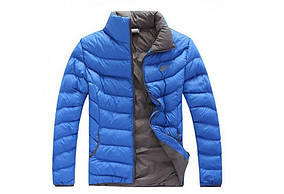 Зимняя мужская куртка Nike Blue реплика