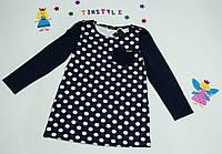 Платье  -туника  для девочки на рост 116 см-146 см