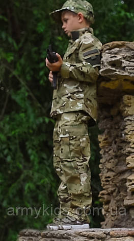 Костюм военный камуфляжный детский ARMY KIDS Киборг 140-146 МТР 17-255, фото 2