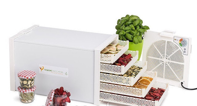 Туннельная сушилка для фруктов Tauro Essiccatori Biosec Domus B5 дегидратор для овощей, грибов, макарон Италия